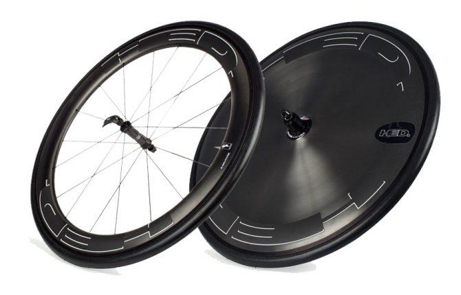 Hed Jet 6 Disc Black Shimano Clincher Saet